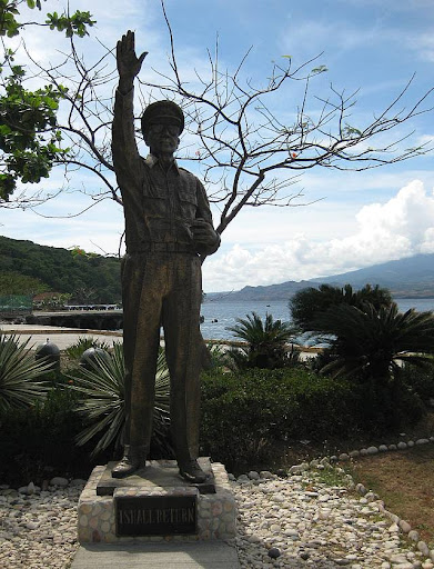 General Douglas MacArthur's statue in Corregidor Island