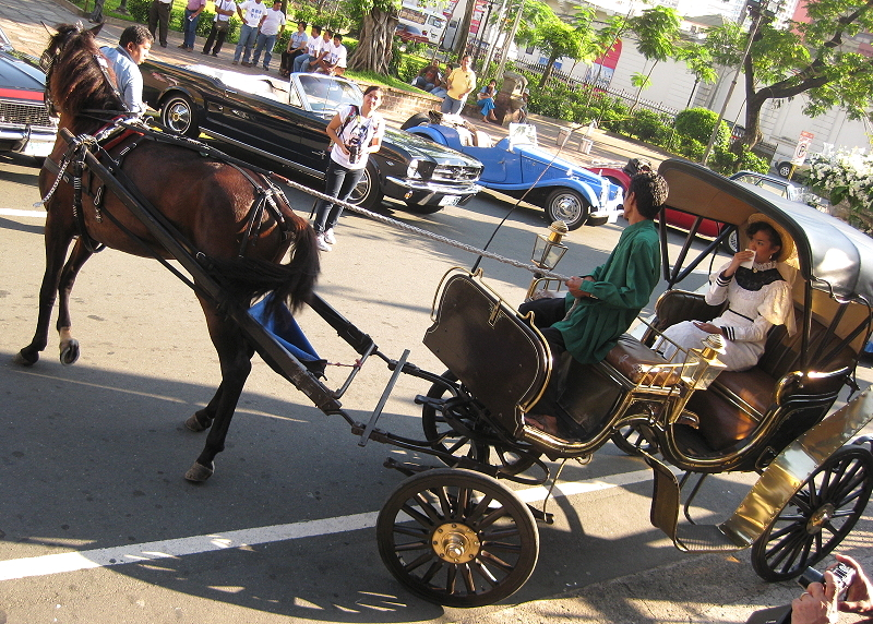 carruaje, horse-drawn carriage, in Intramuros