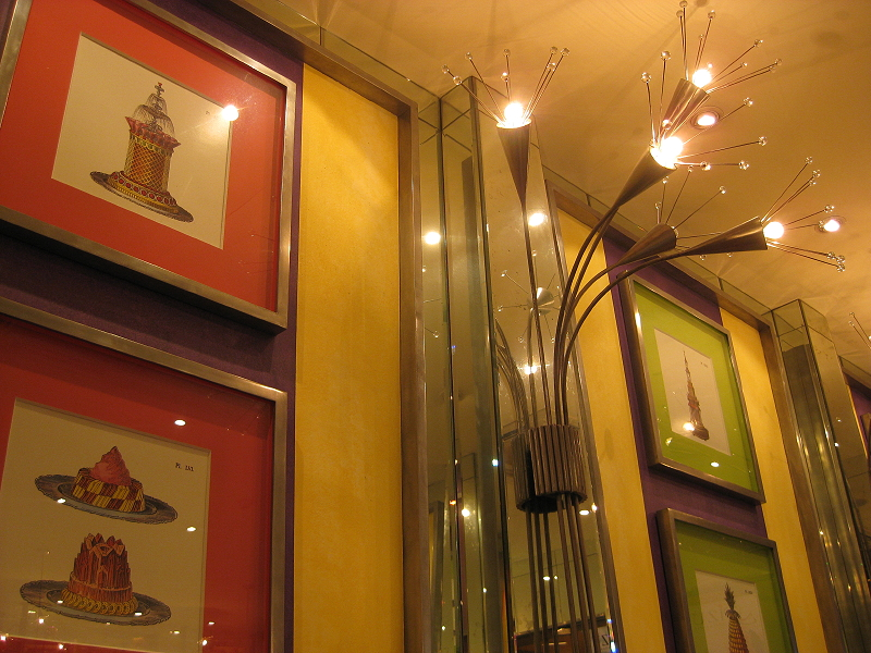 interior of Bizu Patisserie in the Promenade, Greenhills