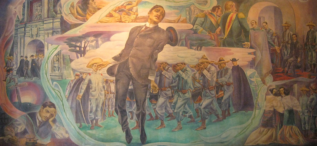 painting of the execution of Jose Rizal