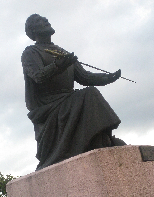 statue of St. Ignatius of Loyola