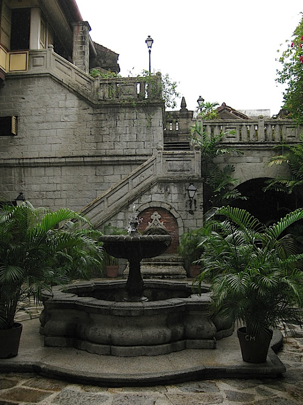 Plaza San Luis in Intramuros, Manila