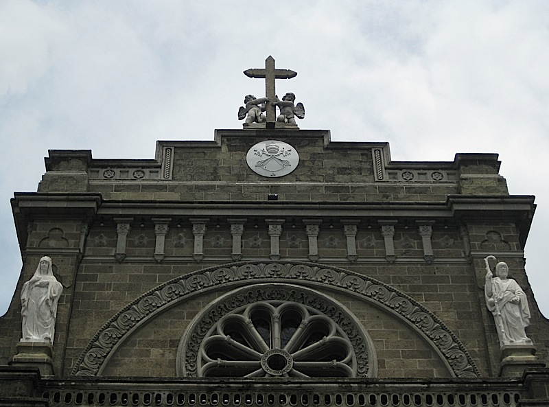 detail of the Manila Cathedral