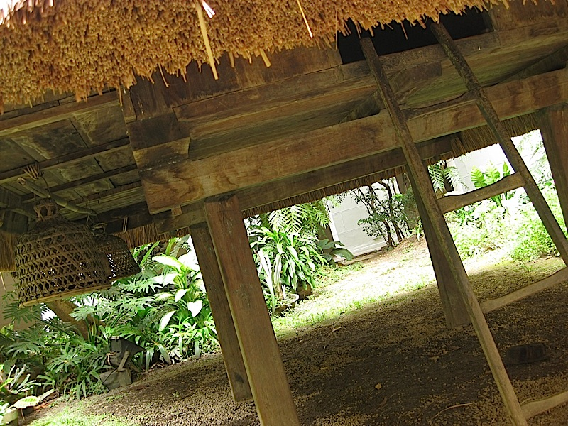 replica of a traditional Ifugao house