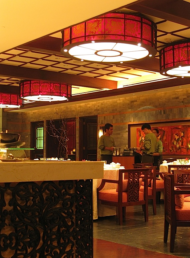 Spiral Restaurant in Sofitel Manila