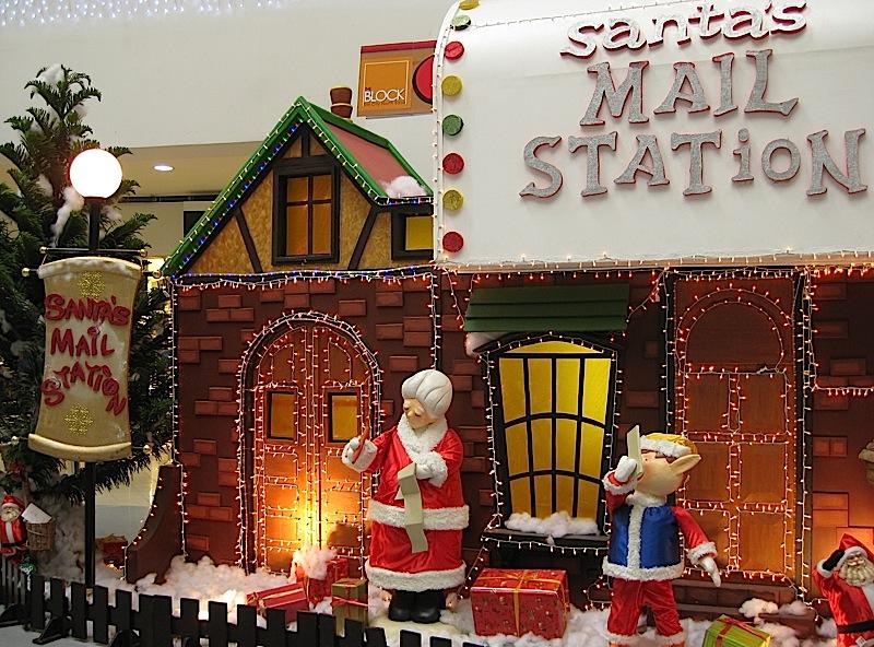 Santa's Mail Station at the Christmas Village in The Block at SM City North EDSA