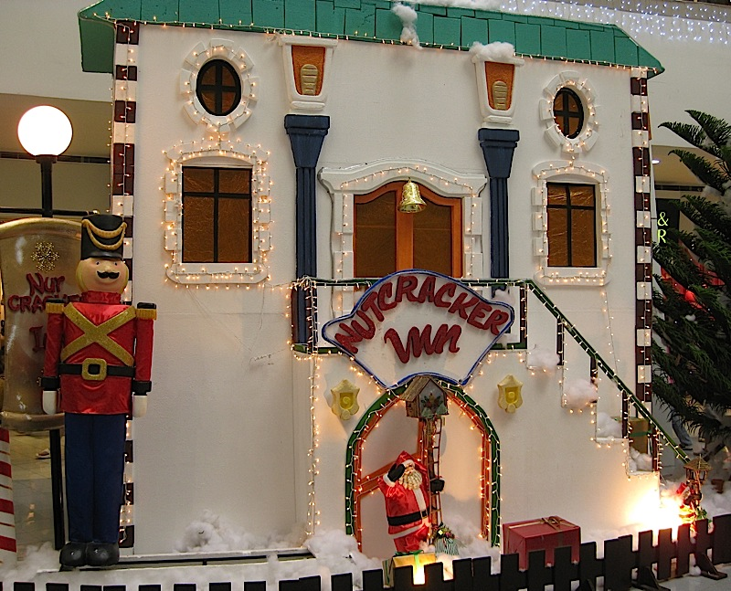 Nutcracker Inn at the Christmas Village in The Block at SM City North EDSA