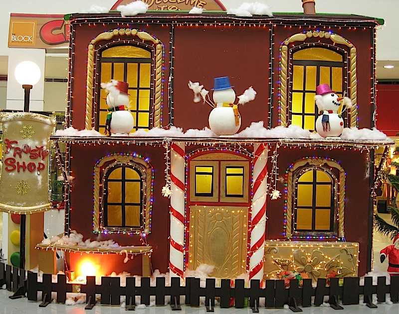 Frosty Shop at the Christmas Village in The Block at SM City North EDSA