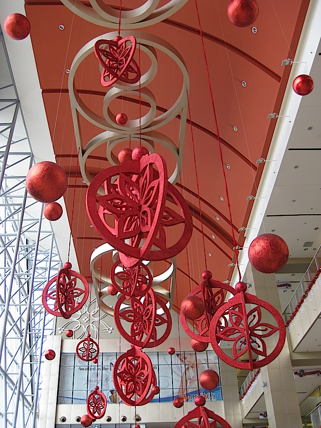 SM City Marikina's grand atrium decorated for Christmas
