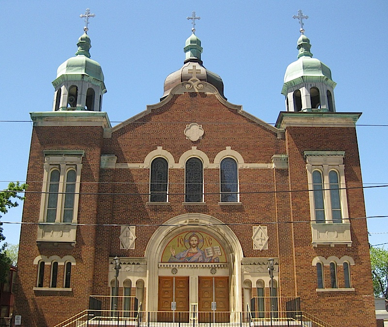 brick church, Toronto