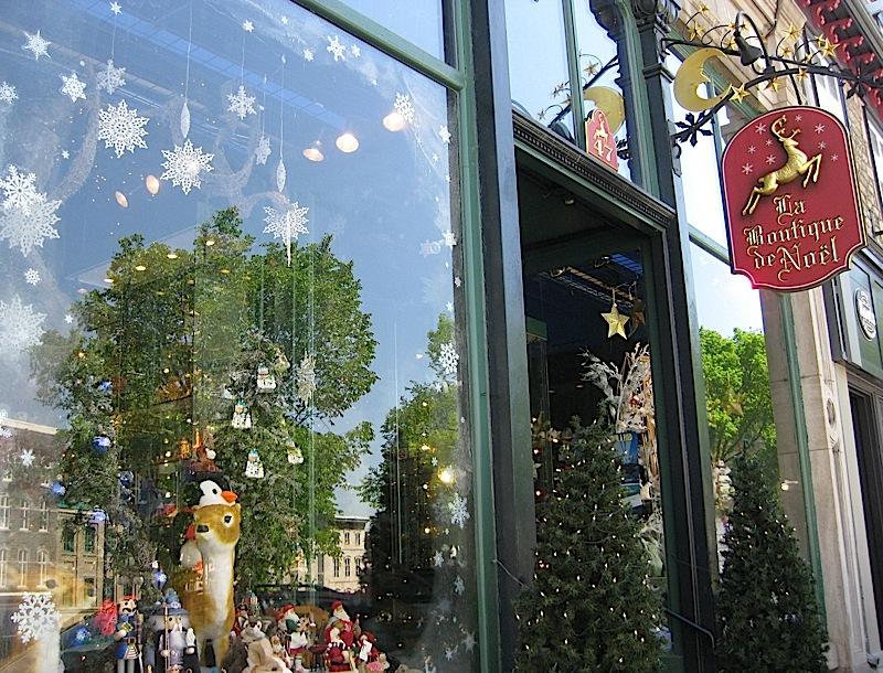 La Boutique de Noël in Vieux-Québec, Quebec City