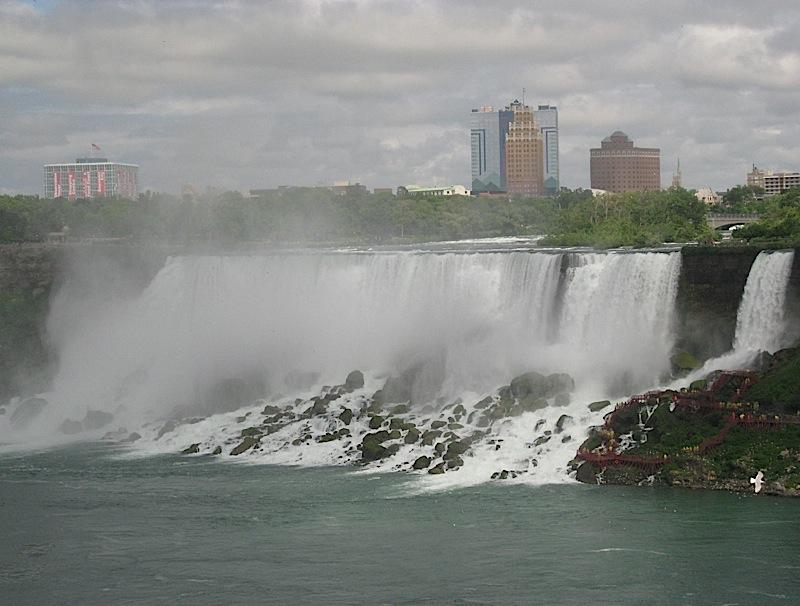 American Falls and Bridal Veil Falls, Niagara Falls