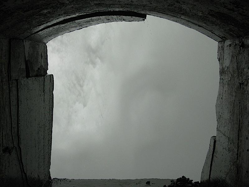 view from under the Canadian Horseshoe Falls, Niagara Falls