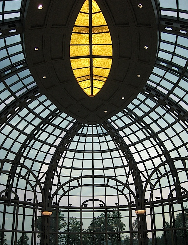 glass dome at Fallsview Casino Resort at Niagara Falls