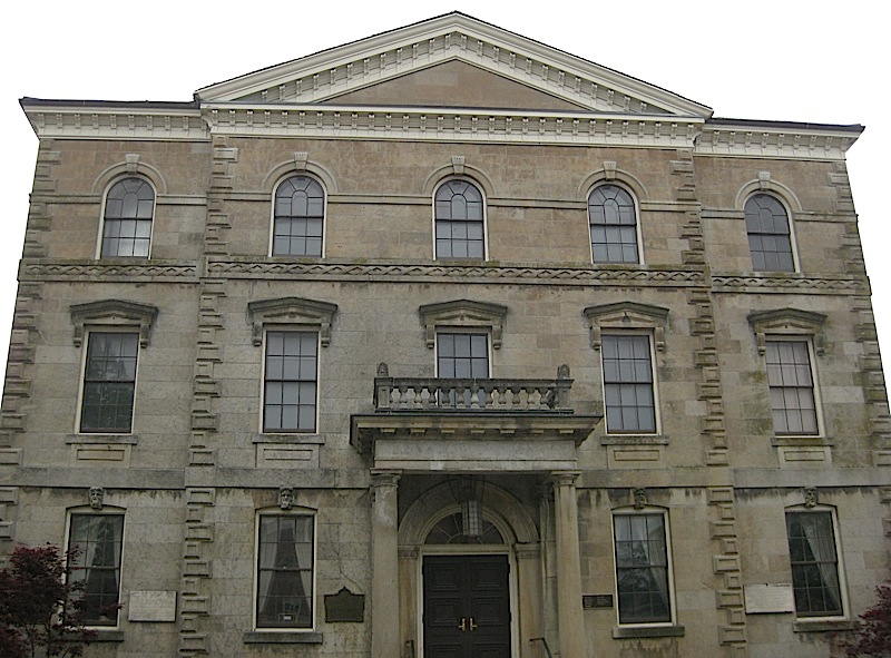 the old Niagara Courthouse, Niagara-on-the-Lake