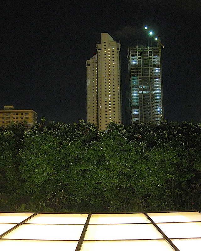 pair of condominium towers in Bonifacio Global City
