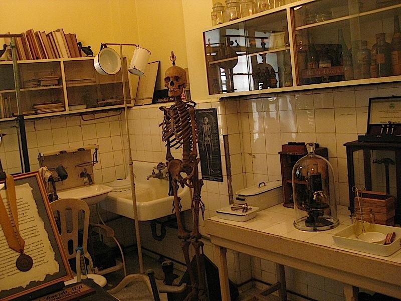 clinic of Dr. Alejandro Legarda at La Cocina de Tita Moning, the ancestral home of the Legarda clan