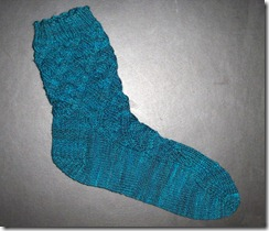 Malestrom Sock 1 complete
