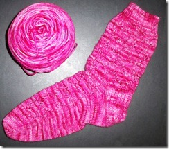 Hearts A Plenty Sock 1