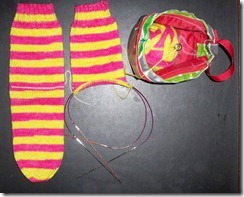 Twisted Limone - Tangy #1 - Second Sock