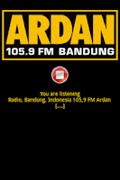 Screenshot of Radio Ardan