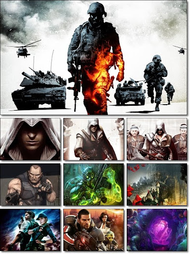 Games CG Collection Wallpapers Pack