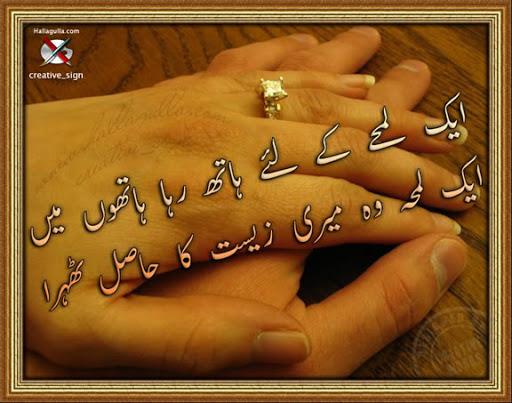 Zeest Ka Hasel - Urdu Poetry
