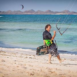 by Krzysztof Moryc - Sports & Fitness Surfing ( northkiteboarding, nobile, KITESURFING, Fuerteventura )
