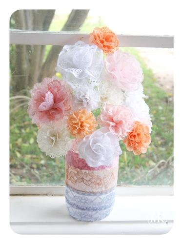 Lace flower bouquet 2