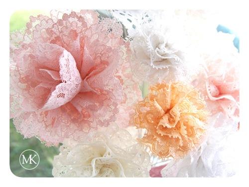 Lace flower bouquet 3