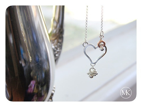 heart hook necklace 2