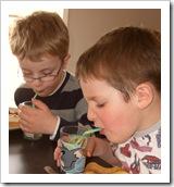kiel og familemiddag i påsken 2009 083
