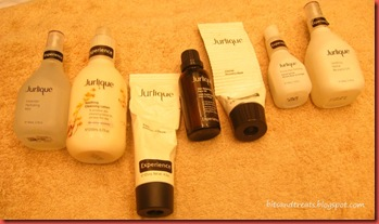 jurlique anti-stress facial products, by bitsandtreats