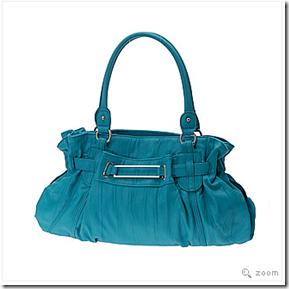 Aldo Eriksson turquoise bag