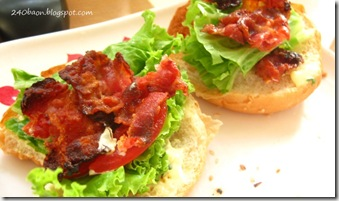 BLT reinvented, by 240baon