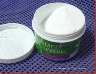 asian secrets lulur whitening body scrub, by bitsandtreats