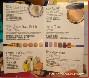 personalized services from estee lauder, by bitsandtreats