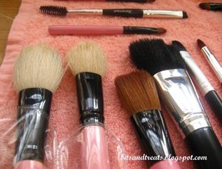 dried asstd brushes, by bitsandtreats