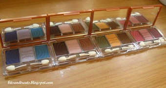 nichido stardust eyeshadow palettes, by bitsandtreats