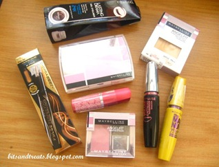 maybelline goodies, by bitsandtreats
