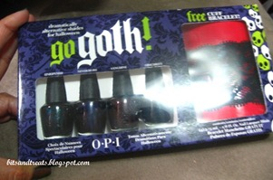 go goth opi set, by bitsandtreats