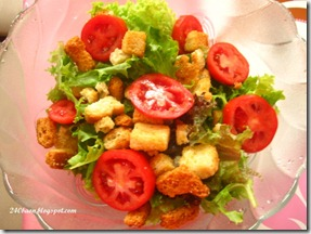 salad with tomatoes, by 240baon