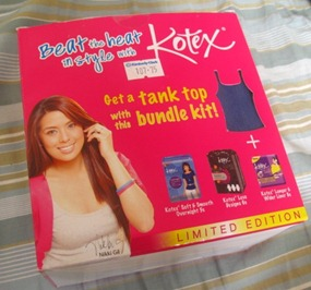 kotex bundle kit, by bitsandtreats