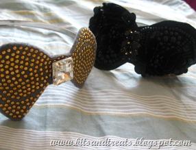bow headbands, by bitsandtreats