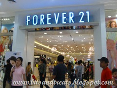 Forever21 at SM Makati, by bitsandtreats