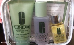 clinique 3 step system, by bitsandtreats