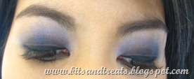 peony and python smokey eye, by bitsandtreats