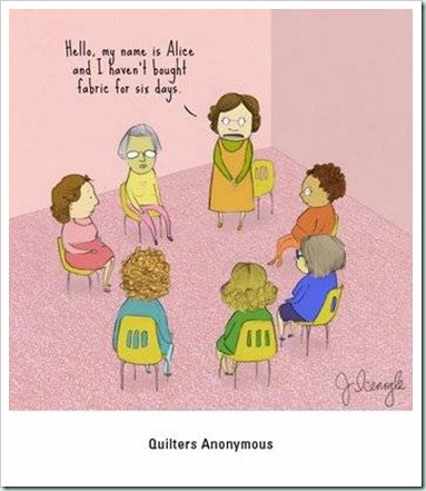 quilt cartoon