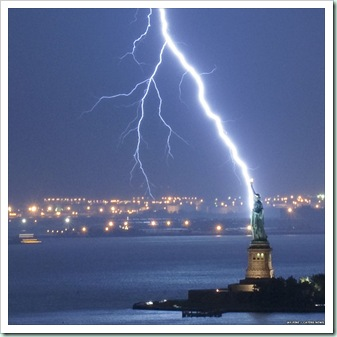 lightning strikes liberty