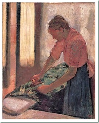 Edgar Degas (1834-1917)_  Woman Ironing 1870s